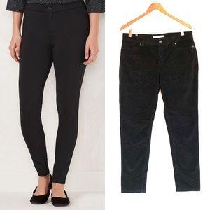 LC Lauren Conrad Black Skinny Corduroy Jeans
